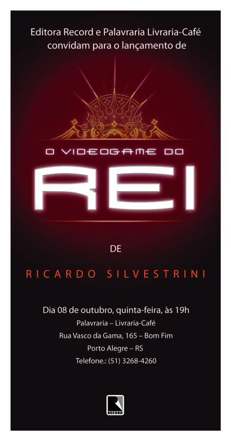 LIVR O VIDEOGAME DO REI