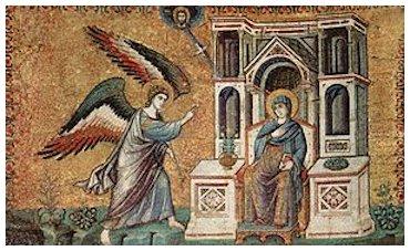 Pietro Cavallini - Anunciação