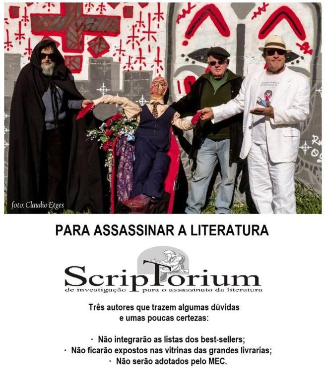 para assassinar a literatura - cartaz