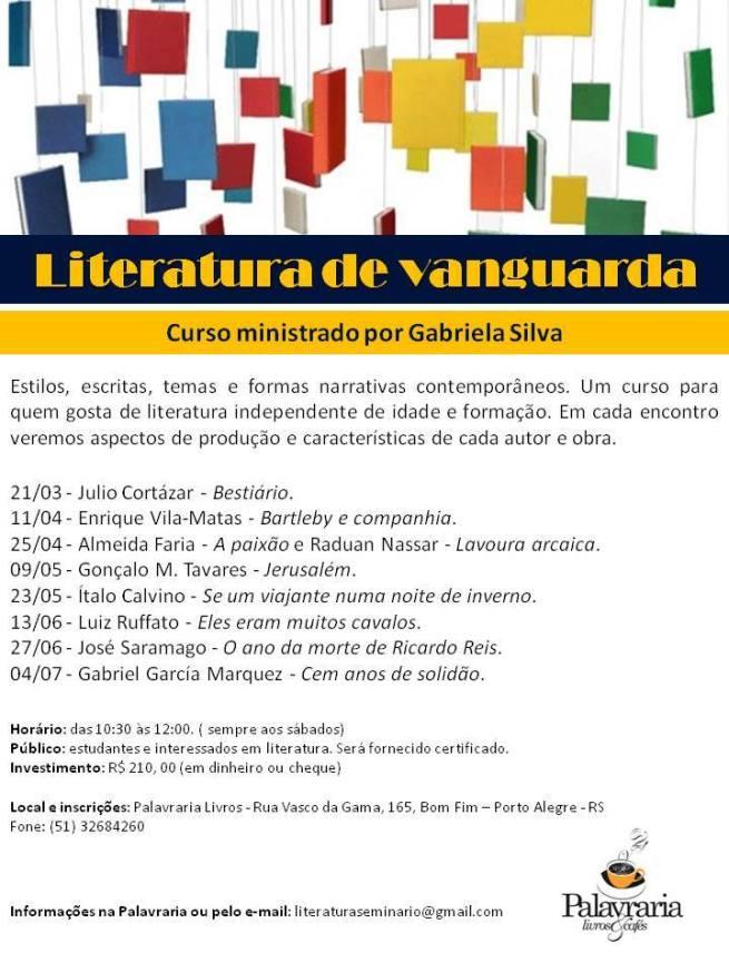 Literatura de Vanguarda - Gabriela Silva