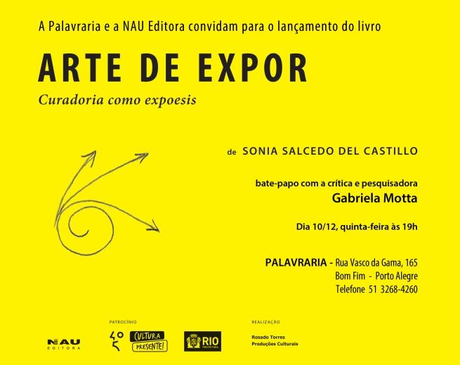 CONVITE LANÇAMENTO ARTE DE EXPOR.indd